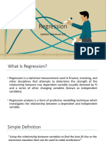 Chapter 6 - Regression