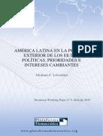 America Latina en la Politica Exterior