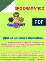 GENERO DRAMÁTICO