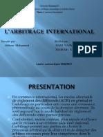Arbitrage Inter