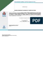 Certificado Atividades - Puc-rs - Leandro Henrique Scarabelot Campos de Pieri