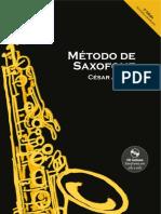 Método de saxofone César Albino, segunda edição (versão promocional)
