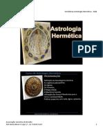 Apostila Workshop Astrologia 2018