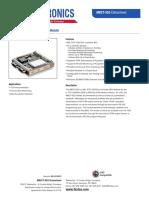 TTC MBCT 553 MIL STD 1553 Bus Controller Module Product Sheet