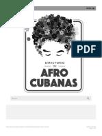Leocadia Pérez Herrera - Directorio de Afrocubanas