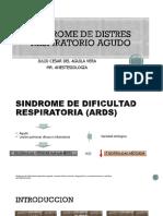 Sindrome de Distres Respiratorio Agudo Julio