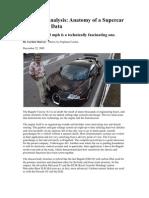 Technical Analysis of a Bugatti
