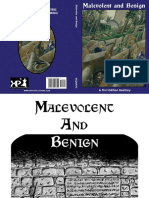 Expeditious Retreat Press - Malevolent and Benign 1st Edition Beatiary