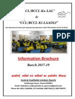 06_02_2017_Admission Prospectus CCL ke LAL_LAADLI 2017-19