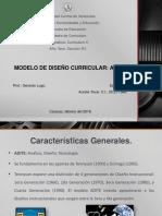 Presentacion Curriculum ADITE