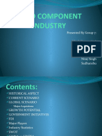Auto Component Industry