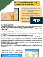 PARAGÉNESIS Y ZONAMIENTO DE LOS YACIMIENTOS EPITERMALES.pptx