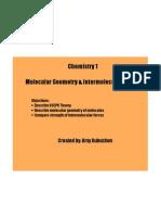 Chem Molecular Geometry
