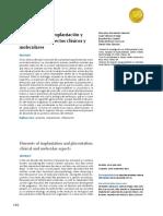 Elementos de la implantación y placentación