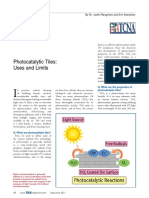 Photocatalytic Tiles - Uses and Limits.pdf
