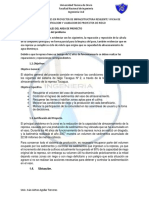 TOMA DE DECISIONES EN PROYECTOS DE INFRAESTRUCTURA RESILIENTE Y FICHA DE IDENTIFICACION Y VALIDACION DE PROYECTOS DE RIEGO