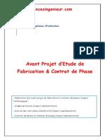 APEF & Contrat de phase