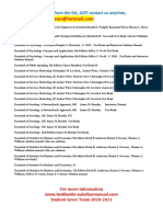 FUll List Test Bank and Solution Manual 2020-2021 ( Student Saver Team ) -Part 4