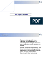 Six Sigma Overview ER