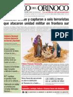 Correo del Orinoco N° 3.655 Lunes 23 de diciembre de 2019