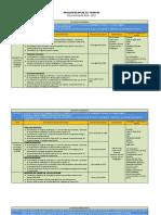 Programa Anual de Trabajo 2010-2011