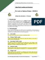 M54 unit 2 Traffic Load on Highway Bridges BS5400-2