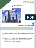 Basic concepts of Reinforced concrete design