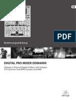 Behringer DDM4000_manualM_DE