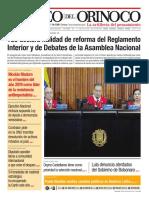 Edición Impresa Correo del Orinoco N° 3.652 Viernes 20 de Diciembre de 2019