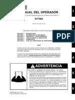 Manual de Operador RT700E