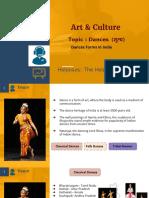 Art & Culture - Dances For UPSC