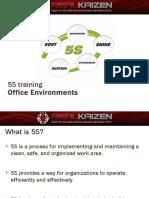 5S Training Office Environment