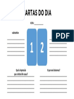 Cartas do Dia