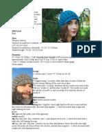Peaked cap pattern