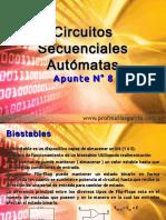 Técnicas Digitales Apunte 8 - Autómatas