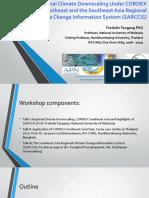 01. Prof Fredolin Tangang GlobeWarm2019 - SARCCIS Workshop.pdf