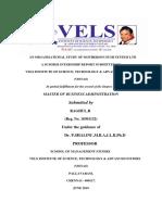 Organization study of motherson sumi system ltd