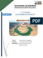 INFORME 2 DE GEOMORFOLOGIA FINAL