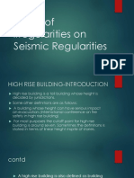 Effect of irregularities on Seismic vulnerability