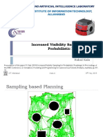Increased Visibility Sampling for Probabilistic Roadmaps
