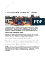 7 Most Desirable Outdoor for Children-converted