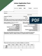 VCM-New Vol Appl Form