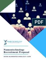Numentechnology Recruitment Proposal