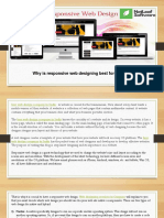 Why is Responsive Web Designing Best for a Website