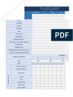 Template For Physical Audit