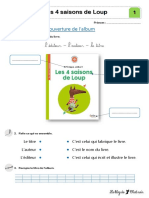 4 saisons loup exercices complet