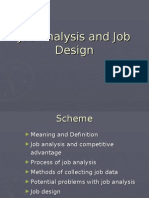 Job analysis and Job Design[1]
