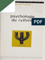 Fraisse, Psychologie du rythme (M) 1974.epub