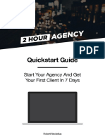 2 Hour Agency Quickstart