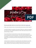 History of Valentine Doc